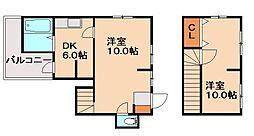 [一戸建] 福岡県筑紫野市武蔵5丁目 の賃貸【/】の間取り