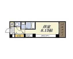 グランパシフィック朝潮橋[4階]の間取り