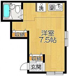 ルフラン第一ビル so[2階]の間取り