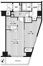 カスタリア初台[14階]の間取り