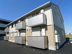 ドリームハイツA・B[2階]の外観