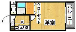 生駒カッレジシティI号棟[5階]の間取り
