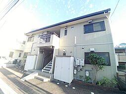兵庫県神戸市東灘区本山中町2丁目の賃貸アパートの外観