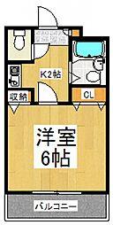 ベルファース朝霞台[3階]の間取り