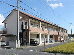 和歌山県御坊市野口の賃貸アパートの外観