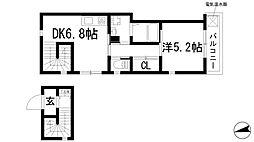 CASA SORA[2階]の間取り