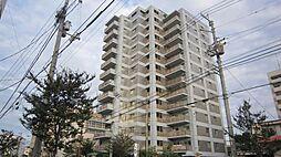 愛媛県松山市築山町の賃貸マンションの外観