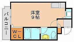 山田屋ビル箱崎[2階]の間取り