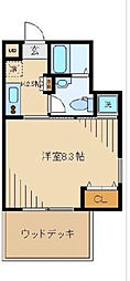 Stella House(ステラハウス)[101号室]の間取り