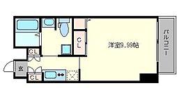 ルパピヨンDX[7階]の間取り