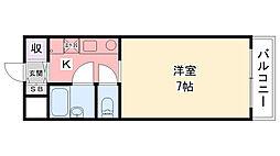 ハイムTAKA[302号室]の間取り