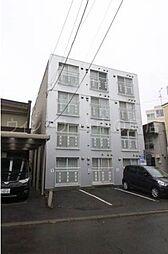 北海道札幌市豊平区平岸四条6丁目の賃貸マンションの外観