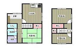 [一戸建] 愛媛県松山市内浜町 の賃貸【/】の間取り