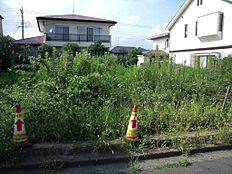 南道路につき日当たり良好です。土地面積もひろびろ70坪で、大変使いやすい土地となっておりますのでおすすめです。