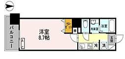 アーバンコンフォート堀江[10階]の間取り