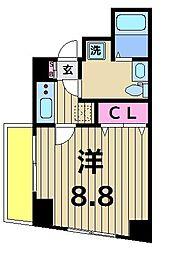 グランフォースお花茶屋[3階]の間取り