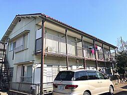 東京都府中市住吉町4丁目の賃貸アパートの外観