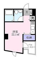 コープリィコート[6階]の間取り