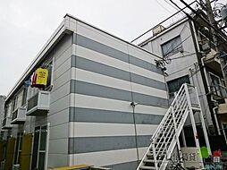 大阪府大阪市住吉区長居西1丁目の賃貸アパートの外観