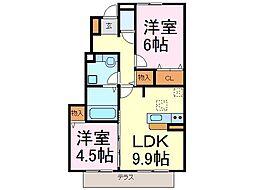 パークハウス常滑 A棟[1階]の間取り