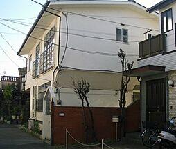 東京都北区田端5丁目の賃貸アパートの外観