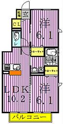 Regalo C[1階]の間取り