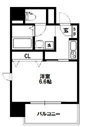 プレミアムステージ新大阪駅前[6階]の間取り
