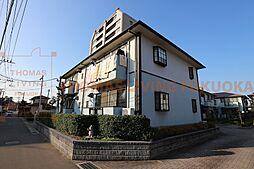福岡県福津市花見が丘1丁目の賃貸アパートの外観