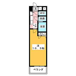欅[2階]の間取り