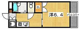 ラヴェニュー西牧野[1階]の間取り