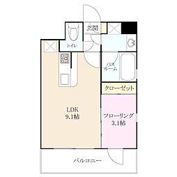 グランレガーロ[4階]の間取り