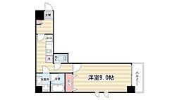 ラモーダ堀川[5階]の間取り