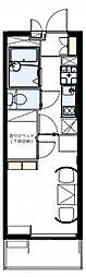 レオパレスプランドール八ヶ崎[1階]の間取り