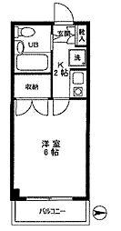 ロイヤルハイム上野[3階]の間取り