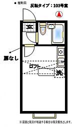 ベルピア北松戸第4-1[103号室号室]の間取り