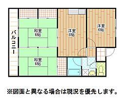 小倉南センタービル[4階]の間取り