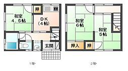 [テラスハウス] 埼玉県さいたま市見沼区大字大谷 の賃貸【/】の間取り