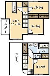 (新築)Ko Olina Yoshimura[B-2号室]の間取り