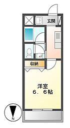 東桜コート[4階]の間取り