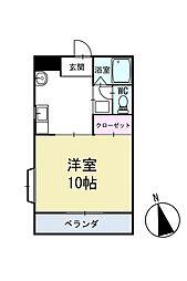 ピュアステージ 2階[202号室]の間取り