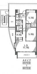 アルビオ北新横浜[403号室号室]の間取り