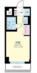 東京都目黒区大橋2丁目の賃貸マンションの間取り