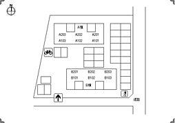 メゾネットクレール B棟[B201号室]の外観