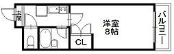 「エンゼルプラザ彦根4」〜落ち着いた街並み 城下町〜[1207号室]の間取り