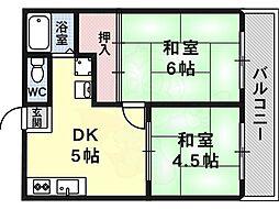 河内松原駅 4.5万円