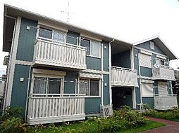 神奈川県大和市林間1丁目の賃貸アパートの外観