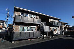 山梨県甲府市下鍛冶屋町の賃貸アパートの外観