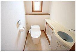 トイレに手洗い場があるので、いつも清潔にできますね