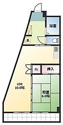 ANNEX唐山[2階]の間取り