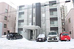 北海道札幌市白石区南郷通1丁目北の賃貸マンションの外観